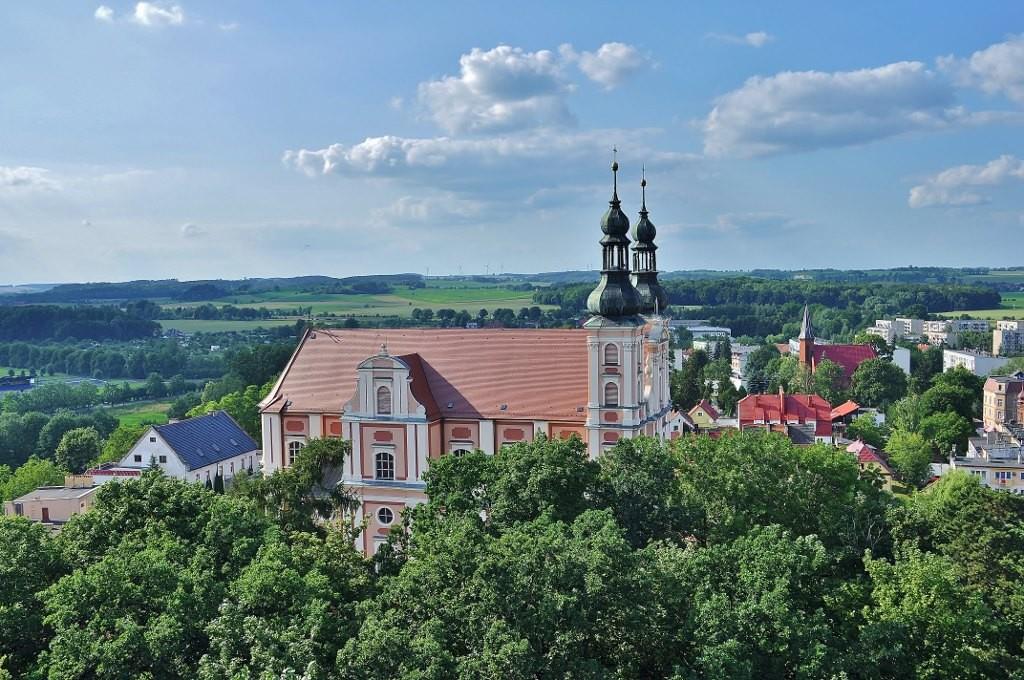 Zdjęcia: Otmuchów, Śląsk Opolski, Otmuchów, kościół, POLSKA