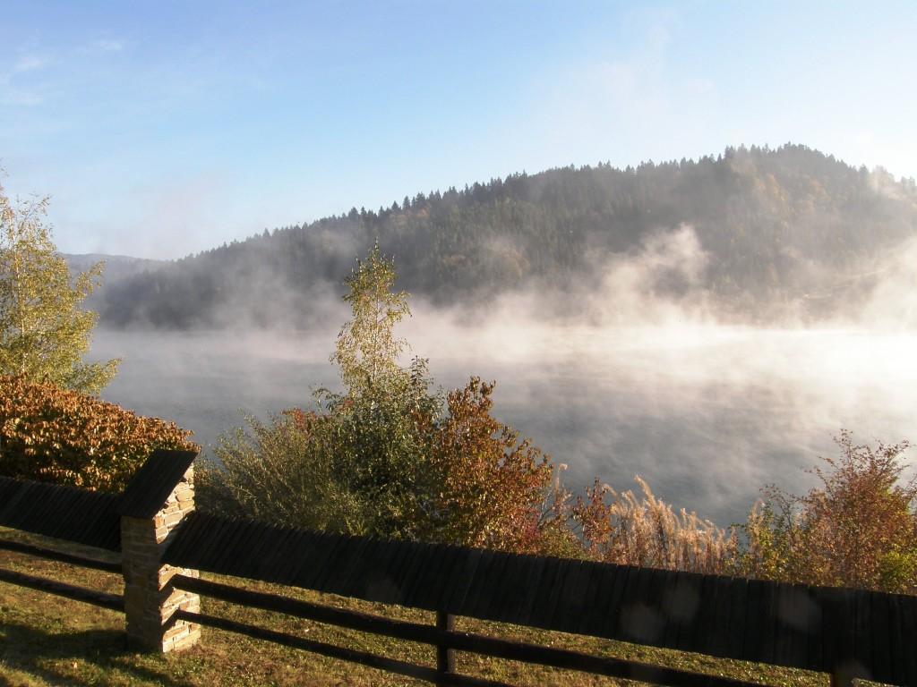 Zdjęcia: Pieniny, Małopolska, Poranne mgły, POLSKA