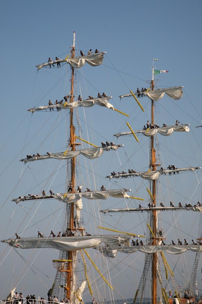 Zdjęcia: The Cutty Sark Tall Ship Race Szczecin 2007, Pomorze Zachodnie, Meksykanie na Cuauhtémoc, POLSKA