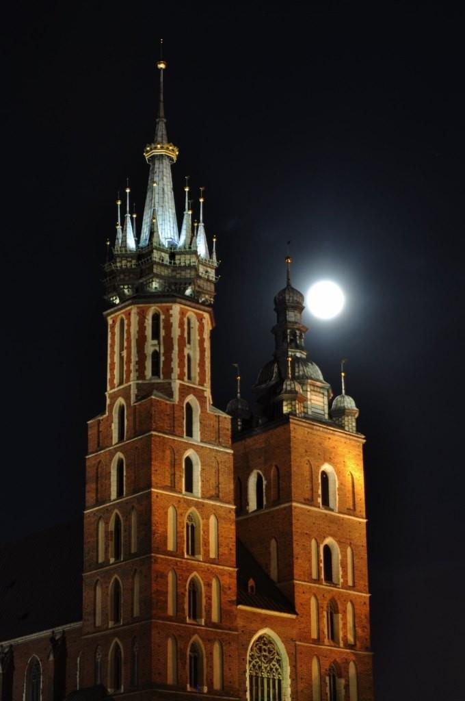 Zdjęcia: Kraków, Małopolska, Kraków, kościół Mariacki, POLSKA