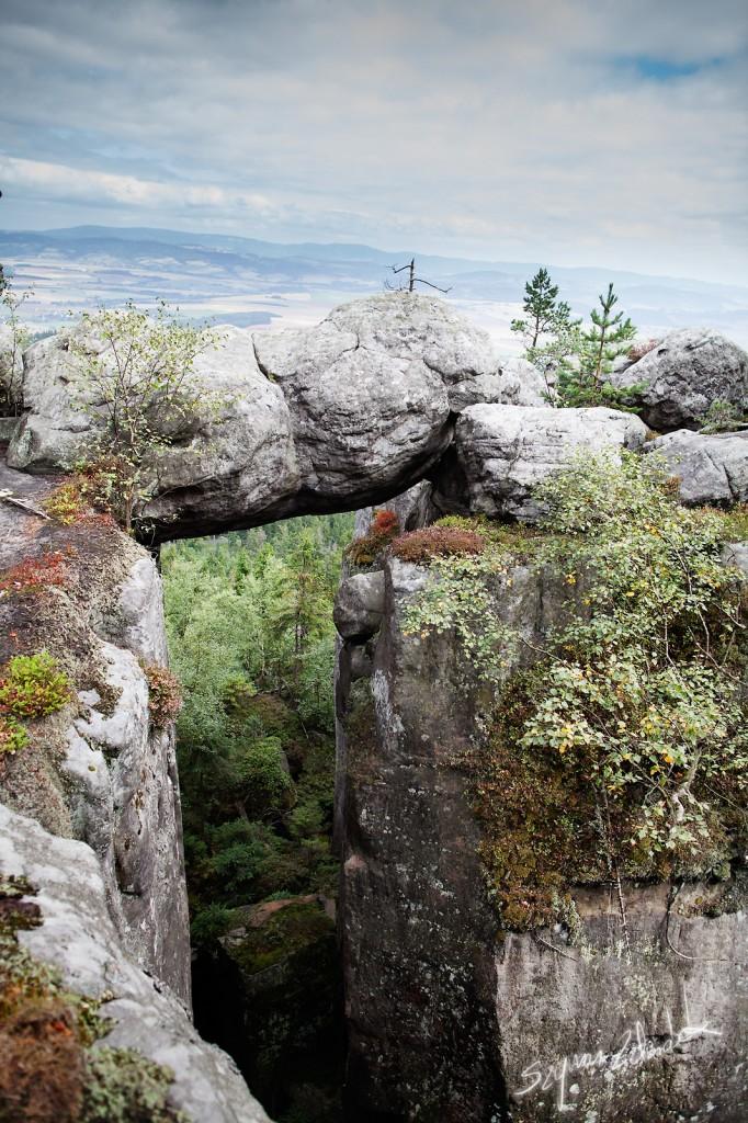 Zdjęcia: Szczeliniec Wielki, Góry Stołowe, Pomost, POLSKA