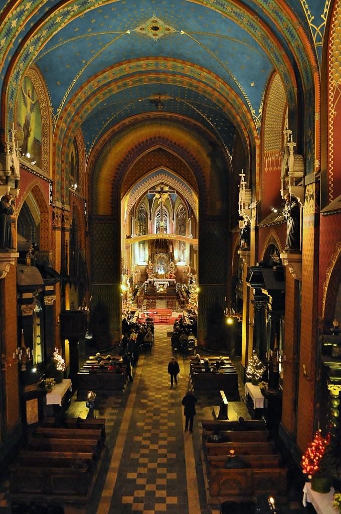 Zdjęcia: Kraków, Małopolska, Kraków, Bazylika św. Franciszka, POLSKA