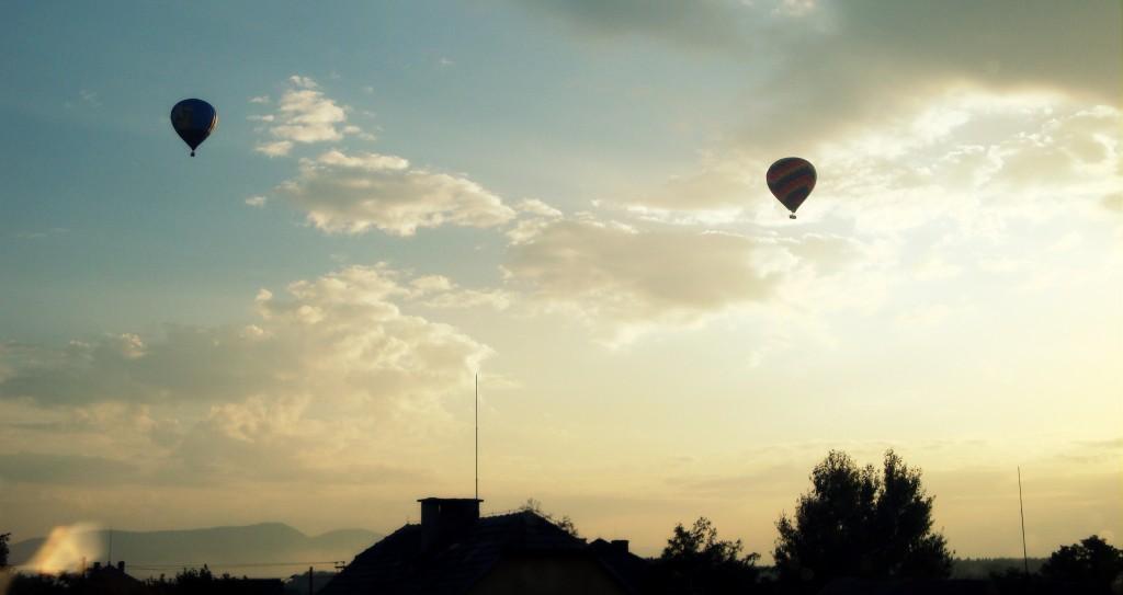 Zdjęcia: Witkowice, Europa, Mała wieś o zachodzie słońca., POLSKA