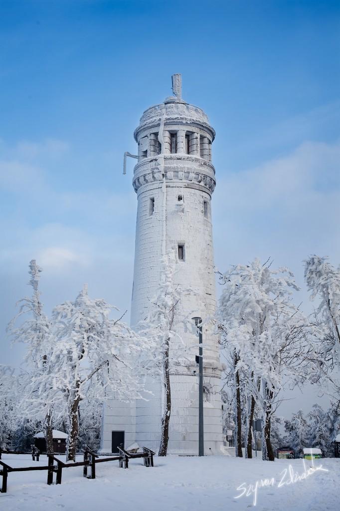 Zdjęcia: Wielka Sowa, Góry Sowie, Wieża, POLSKA