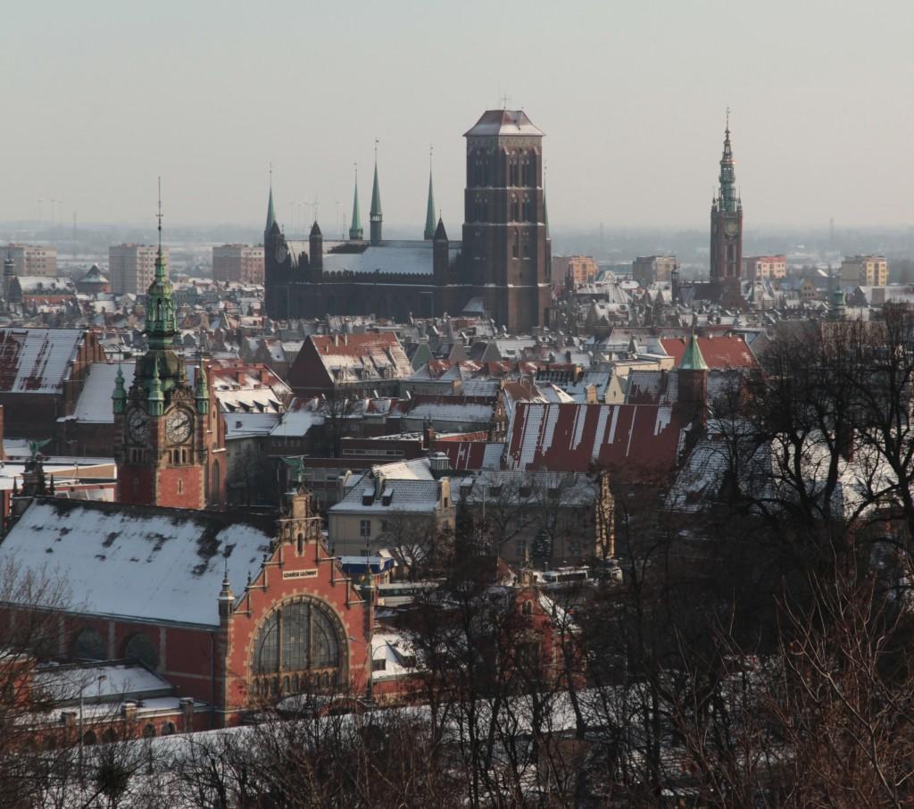 Zdjęcia: Gdańsk, Pomorze, Widok z Góry Gradowej, POLSKA