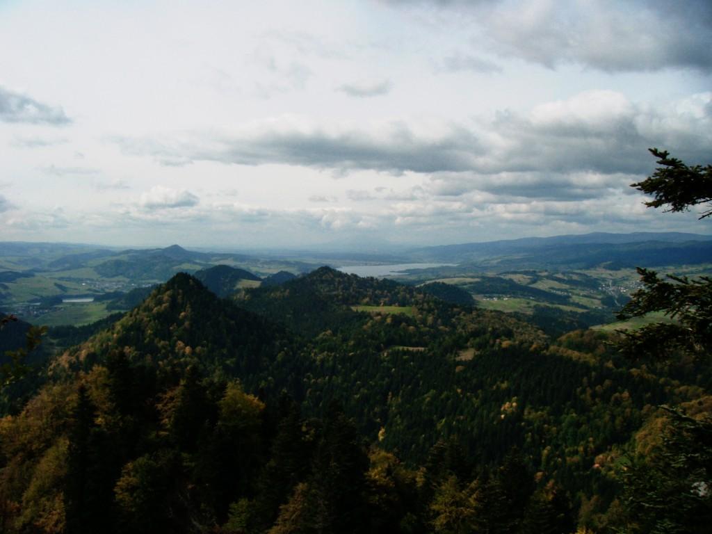 Zdjęcia: Trzy Korony, Pieniny, Widok z Trzech Koron, POLSKA