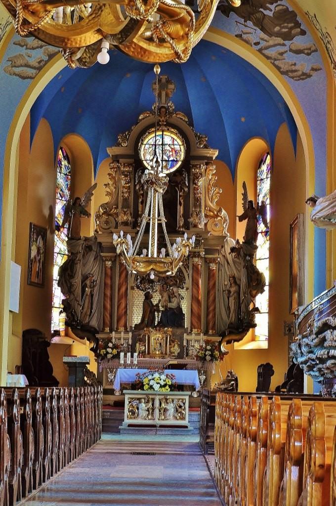 Zdjęcia: Jastarnia, Kaszuby, Jastarnia, kościół, POLSKA