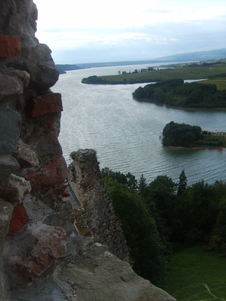 Zdjęcia: niedzica, małopolska, widok z zamku, POLSKA