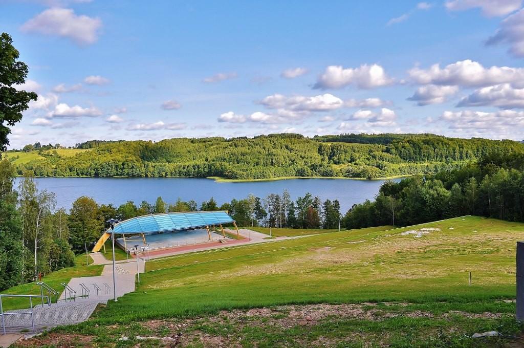 Zdjęcia: Ostrzyca, Pomorze, Jezioro Ostrzyca, POLSKA