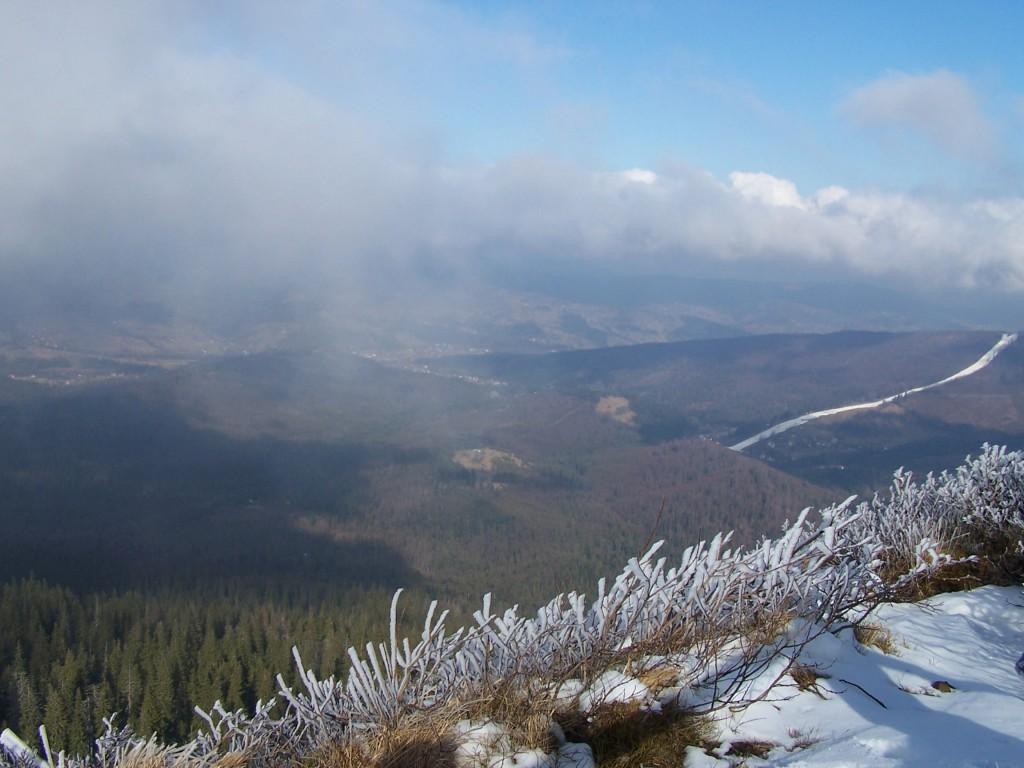 Zdjęcia: w drodze na Babią , Babiogórski Park Nardowy, W zimowej odsłonie II, POLSKA