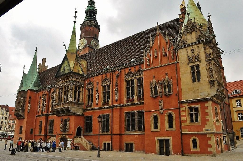 Zdjęcia: Wrocław, Dolny Śląsk, Wrocław, ratusz, POLSKA