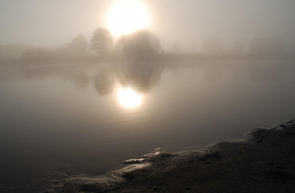 Zdjęcia: gdzieś za Drohiczynem, rzeka Bug, Wschód słońca nad Bugiem, POLSKA
