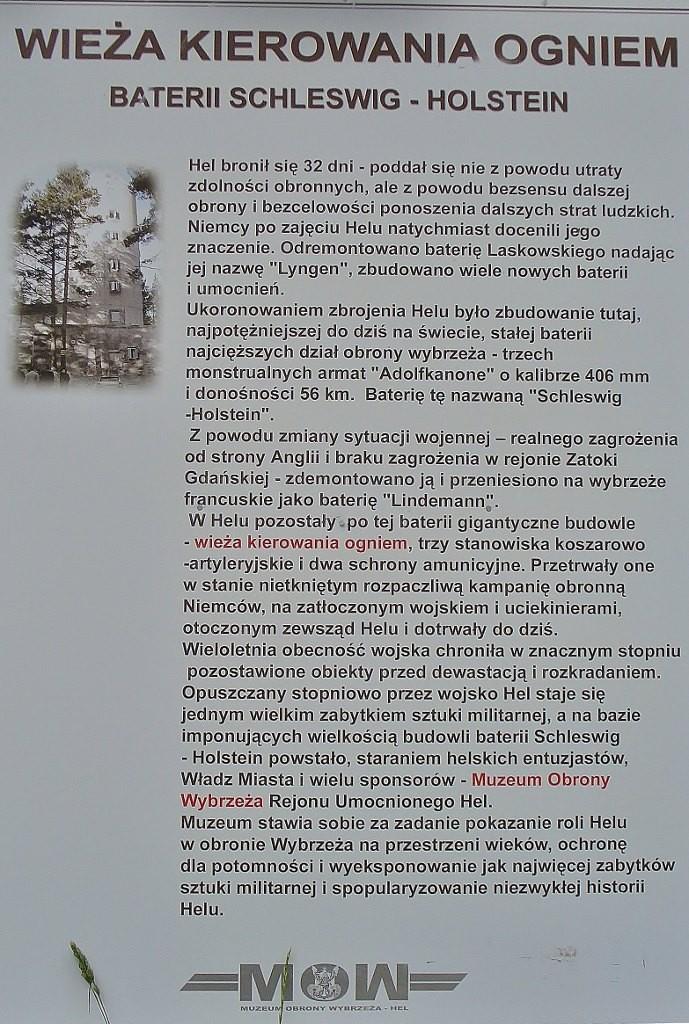 Zdjęcia: Hel, Kaszuby, Hel, fortyfikacje - wieża do wyznaczania celów, POLSKA