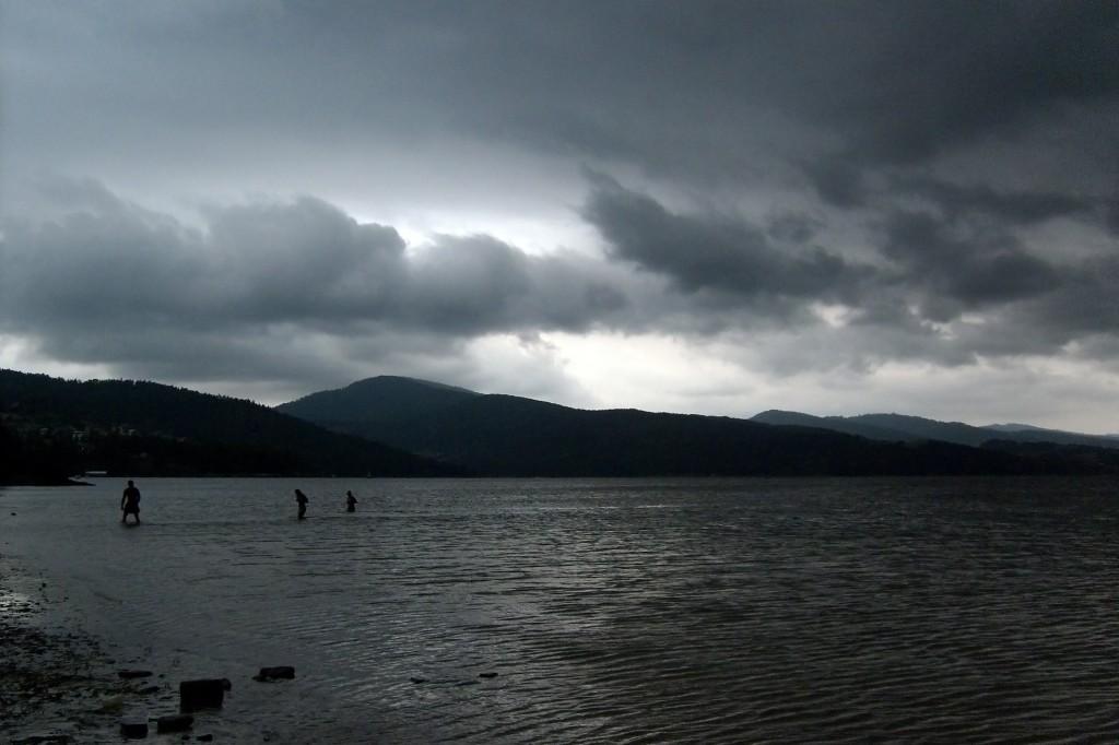 Zdjęcia: Jezioro Żywieckie, Żywiec, Cisza przed burzą, POLSKA