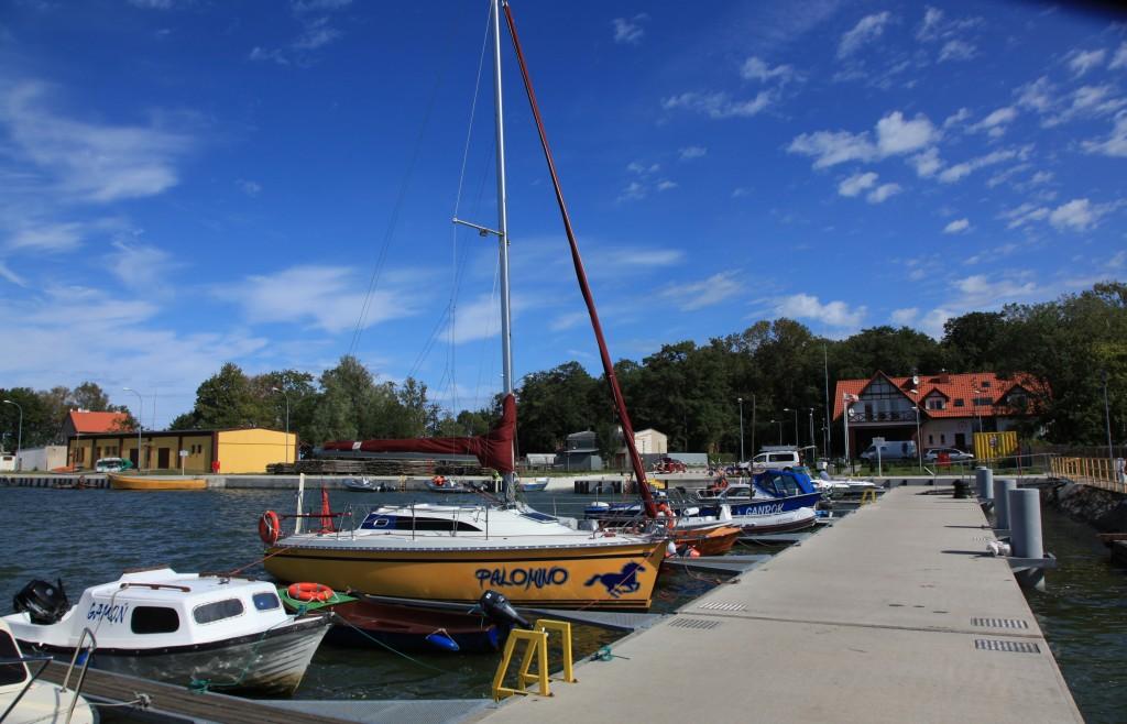 Zdjęcia: Tolkmicko, Woj. warmińsko-mazurskie, Port żeglarski w Tolkmicku, POLSKA