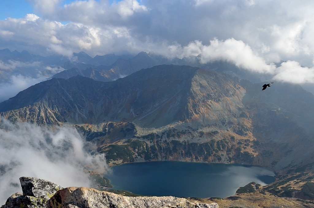 Zdjęcia: Kozi Wierch (2291 m n.p.m), Tatry Wysokie, Wielki Staw Polski, POLSKA