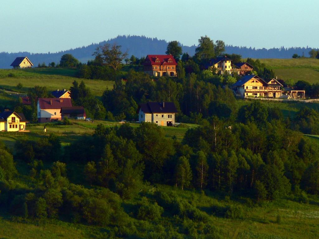 Zdjęcia: ISTEBNA, Beskid Śląski, ISTEBNA O ZACHODZIE- II, POLSKA
