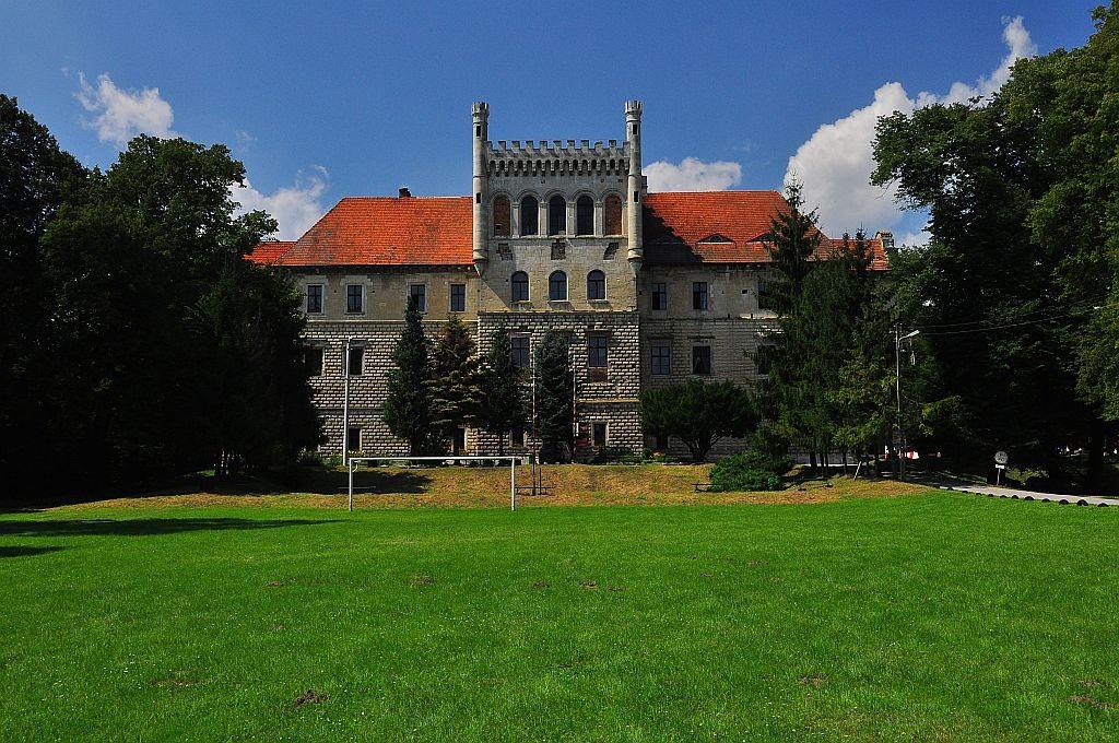 Zdjęcia: Książ Wielki, Małopolska, Pałac Mirów, POLSKA