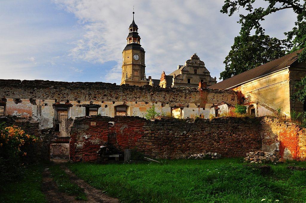 Zdjęcia: Gorzanów, Dolny Śląsk, Pałac, POLSKA
