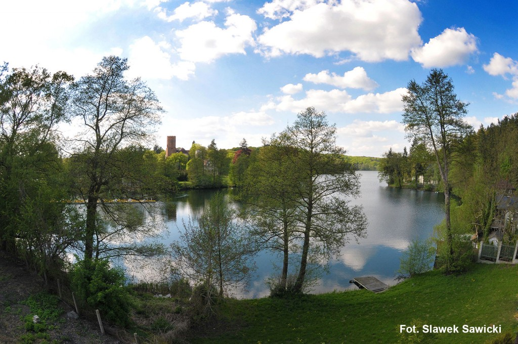Zdjęcia: Łagów,  woj. lubuskie, Jezioro Trześniowskie - Łagów Lubuski, POLSKA