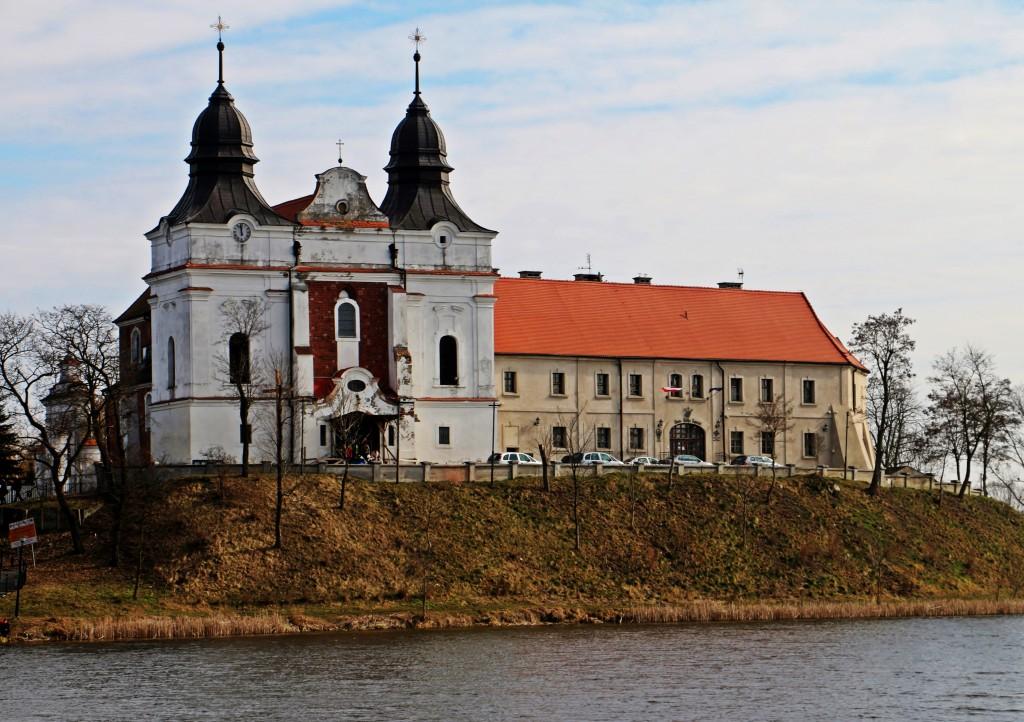 Zdjęcia: Mogilno, Kuj-pom, Klasztor benedyktynów., POLSKA