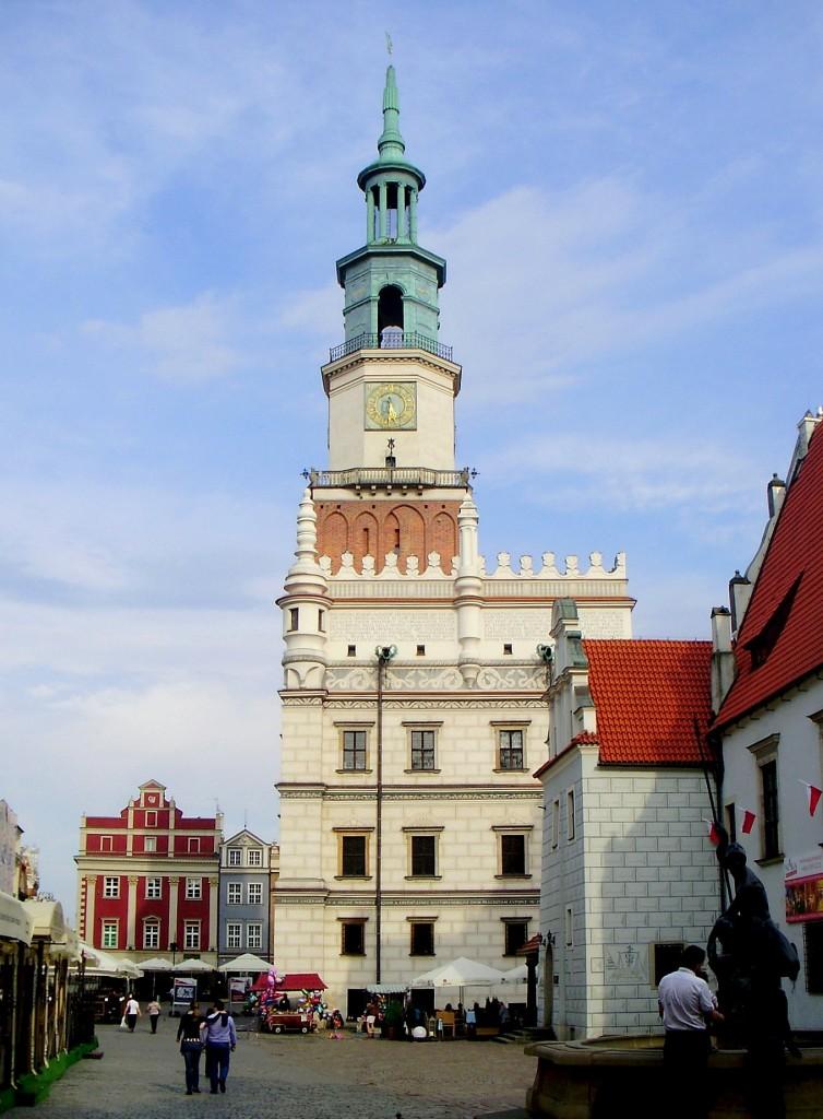 Zdjęcia: Poznań, Wielkopolska, przed ratuszem..., POLSKA