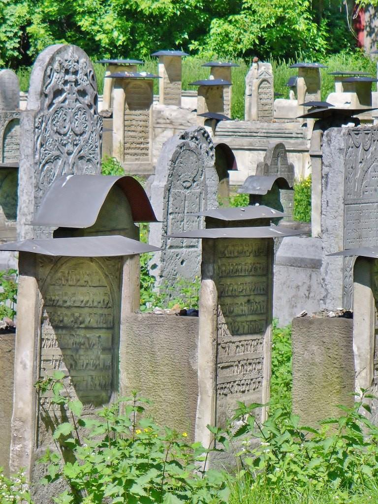 Zdjęcia: Kraków, Małopolska, Kraków, synagoga Remuh, cmentarz, POLSKA