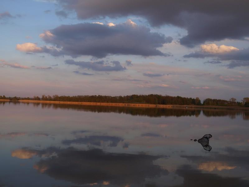 Zdjęcia: Brenno, Wielkopolska, na jeziorze, POLSKA