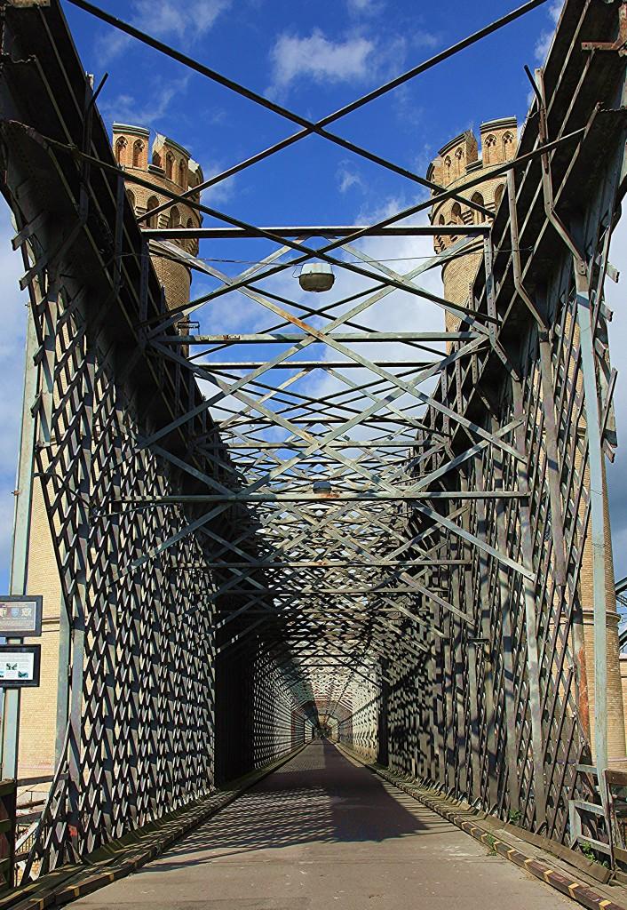 Zdjęcia: Most drogowy w Tczewie (Most Lisewski), Pomorskie, Kratownice, POLSKA