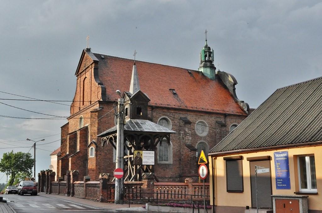 Zdjęcia: Radziejów, Kujawsko-Pomorskie, Radziejów, kościół franciszkański, POLSKA