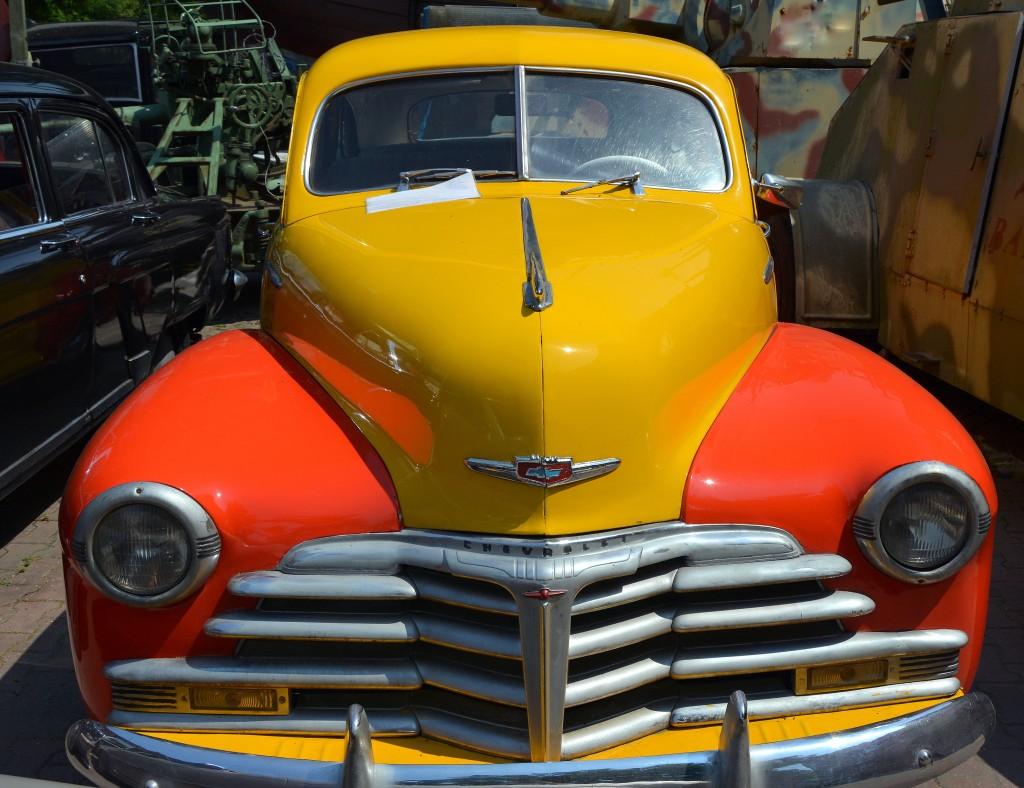 Zdjęcia: Otrębusy (muzeum motoryzacji), mazowsze, Chevrolet Fleetmaster z 1948 rok, POLSKA