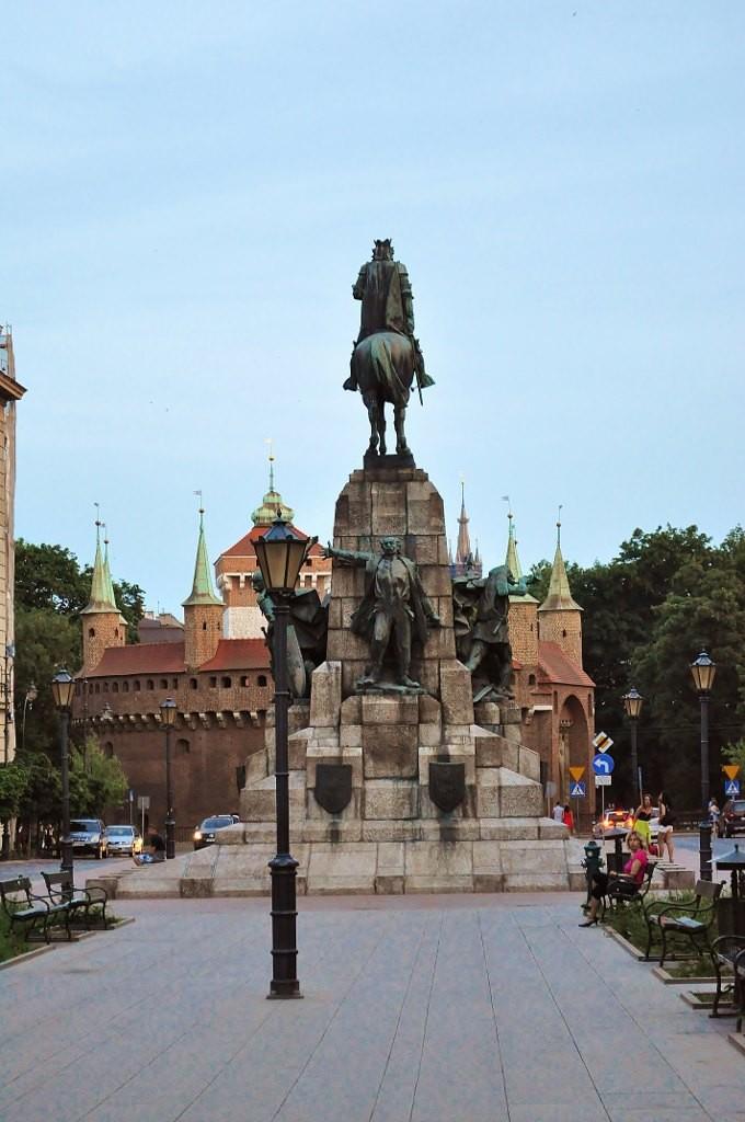 Zdjęcia: Kraków, Małopolska, Kraków, plac Matejki, POLSKA