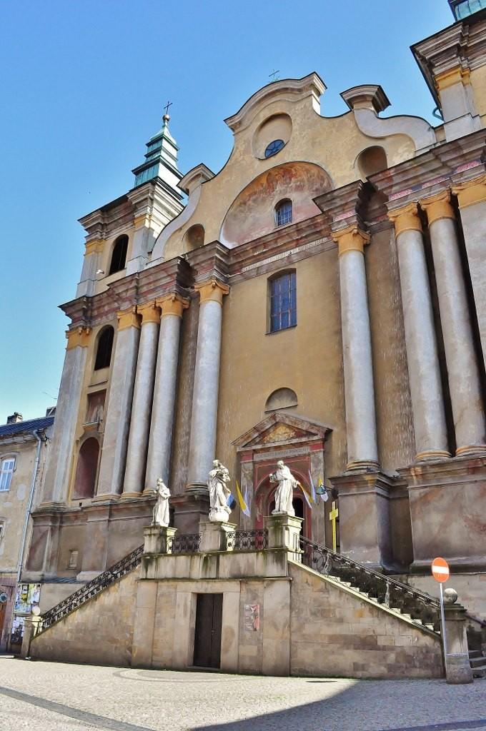 Zdjęcia: Przemyśl, Podkarpacie, Przemyśl, kościół franciszkański, POLSKA