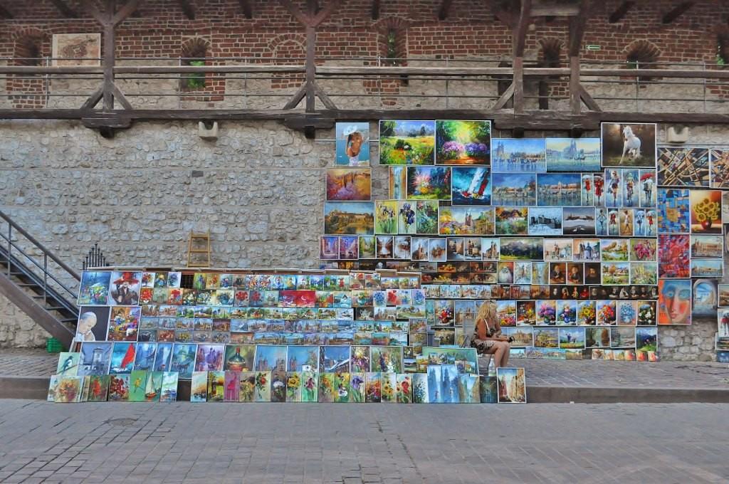 Zdjęcia: Kraków, Małopolska, Kraków, mury miejskie, POLSKA
