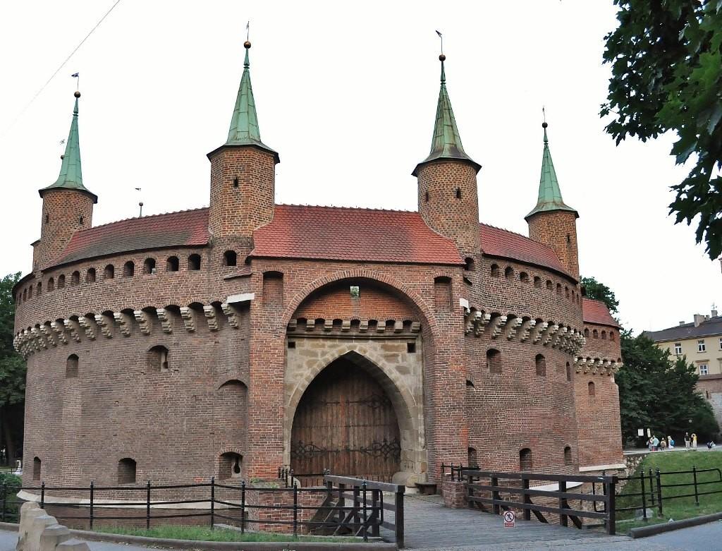 Zdjęcia: Kraków, Małopolska , Kraków, barbakan, POLSKA