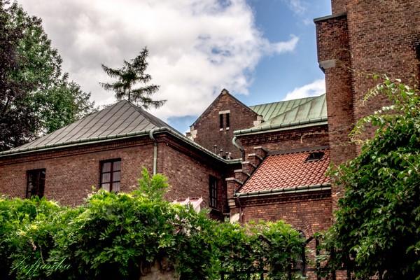 Zdjęcia: Kraków, Dachy i mury, POLSKA