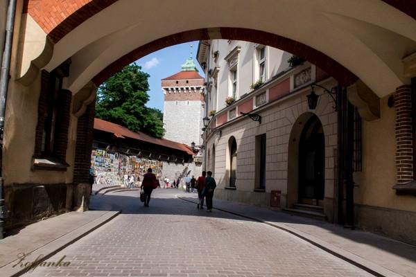 Zdjęcia: Kraków, -Stare Miasto ul.Basztowa, Galeria obrazów, POLSKA