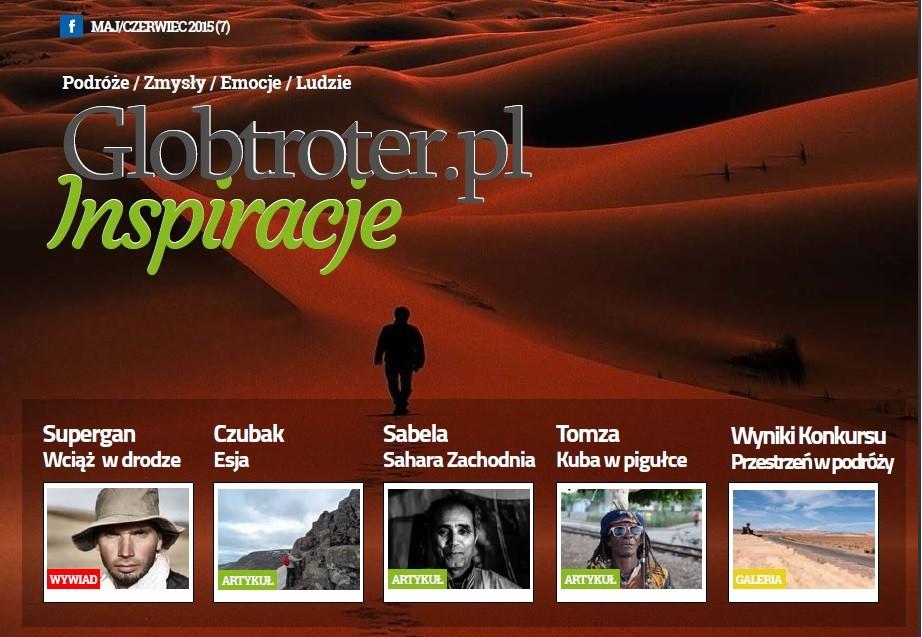 Zdjęcia: ---, ---, Łukasz Supergan- wywiad- magazyn Globtroter.pl Inspiracje nr 7, POLSKA