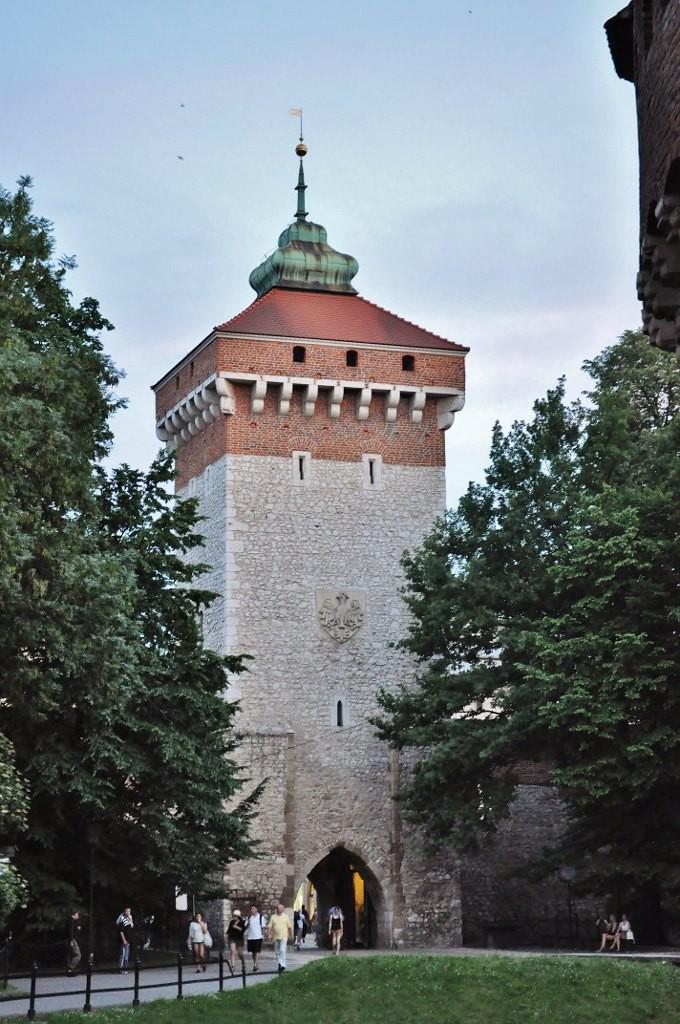 Zdjęcia: Kraków, Małopolska, Kraków, brama floriańska, POLSKA