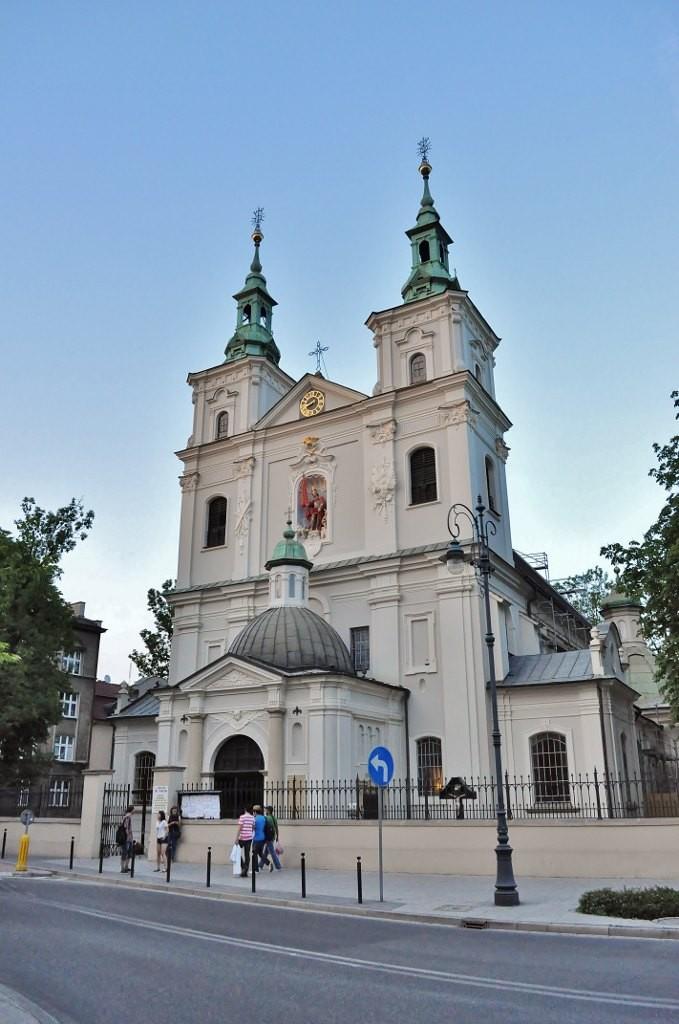 Zdjęcia: Kraków, Małopolska, Kraków, kościół św. Floriana, POLSKA