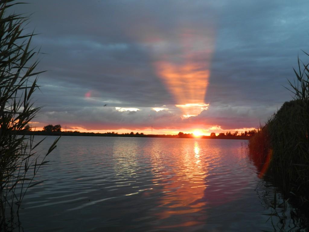 Zdjęcia: spytkowice, małopolska, zachód słońca w dniu ojca..., POLSKA