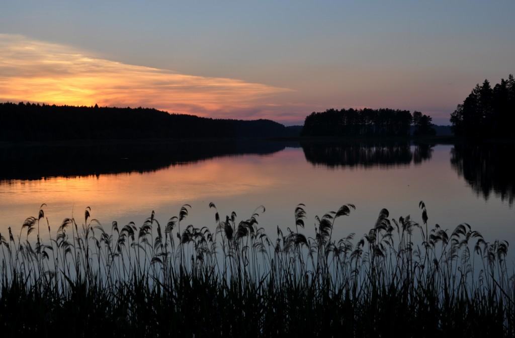 Zdjęcia: Jezioro Zyzdrój Wielki, Mazury, Widok na Wyspę Miłości, POLSKA