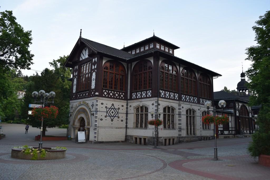 Zdjęcia: Szczawno Zdrój, Dolny Śląsk, Szczawno Zdrój-Pijalnia wód, POLSKA