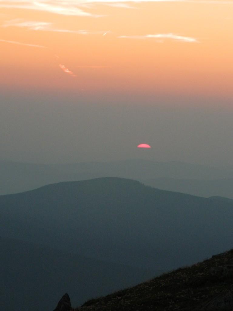 Zdjęcia: babia góra, beskidy, wschód na Babiej Górze, POLSKA