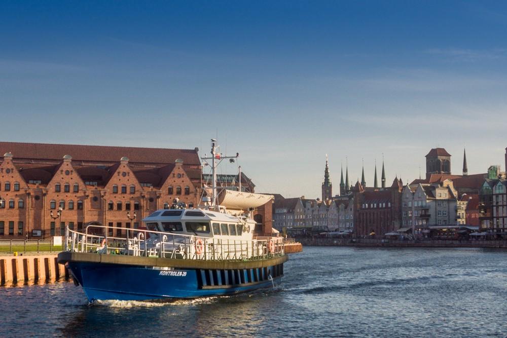 Zdjęcia: Gdańsk, Pomorskie, na Motławie, POLSKA