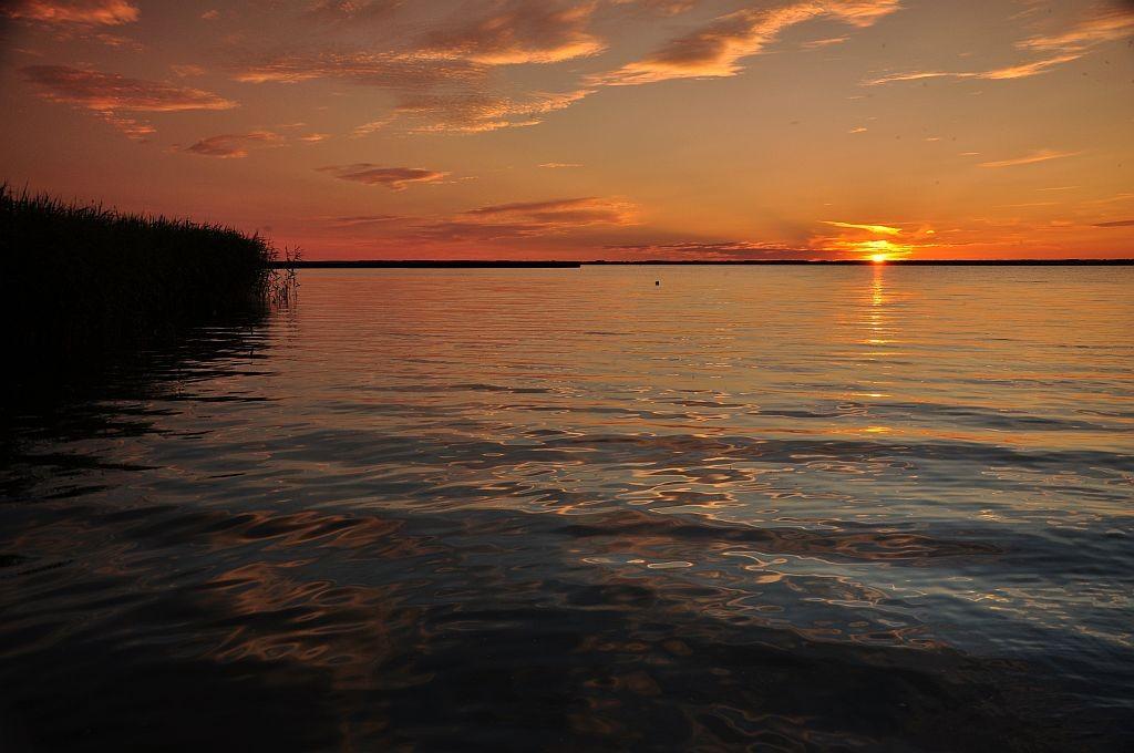 Zdjęcia: Jezioro Gardno, Pomorze Zachodnie, Słoneczko, POLSKA