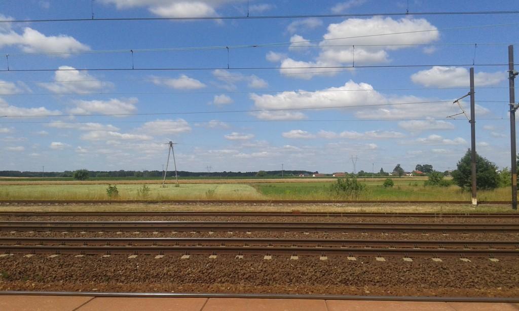 Zdjęcia: stacja pkp, południe, Włoszczowa, POLSKA