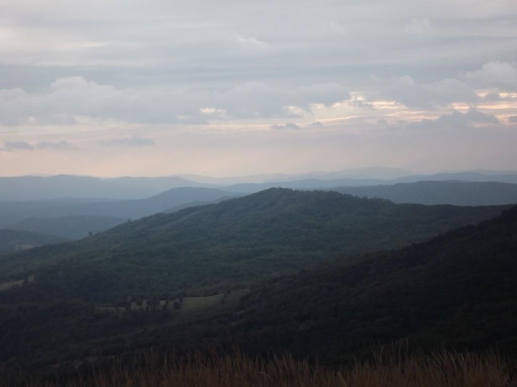 Zdjęcia: Okolice Okrąglika, Bieszczady, Może gór, POLSKA