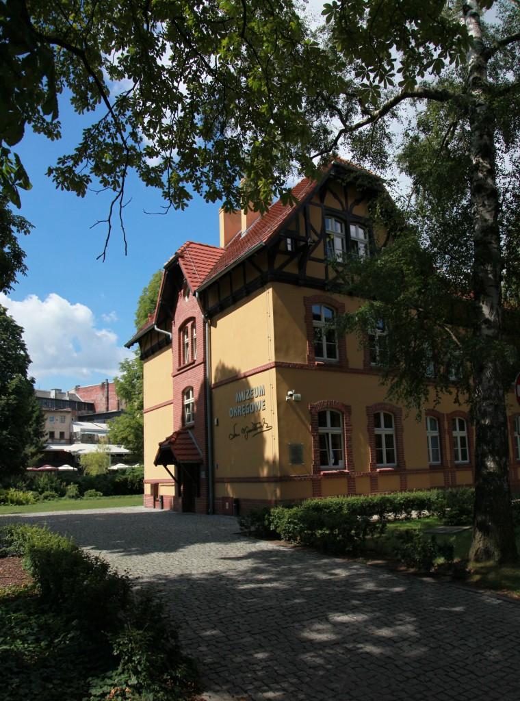 Zdjęcia: Wyspa Młyńska, Bydgoszcz, Dom Leona Wyczółkowskiego, POLSKA