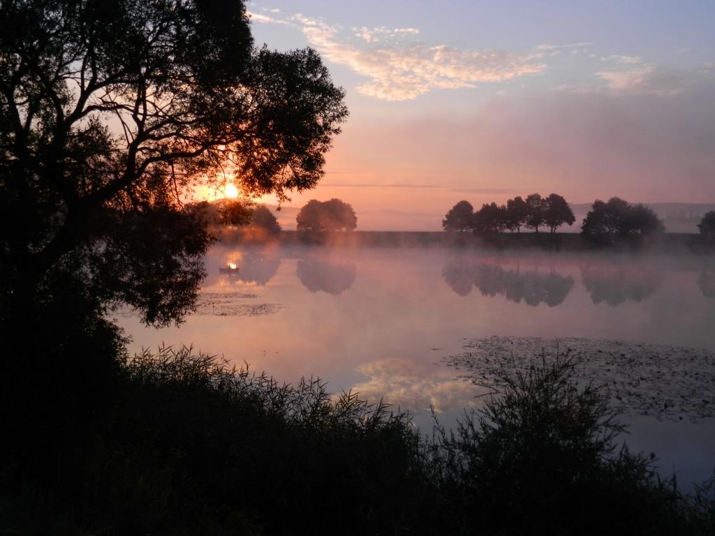 Zdjęcia: wiślisko, spytkowice, wschód słońca... dolina karpia, POLSKA
